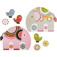 little home at John Lewis Abbey Elephant Wall Stickers