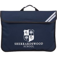 Sherrardswood School Unisex Book Bag, Navy Blue