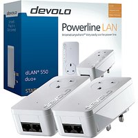 Devolo dLAN 550 duo+ Powerline Starter Kit