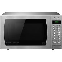 Panasonic NN-CT585S Freestanding Combination Microwave, Stainless Steel