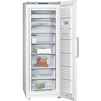 Siemens GS58NAW41 Freestanding Freezer, A+++ Energy Rating, 70cm Wide, White
