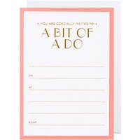 Lagom Designs Party Announcement Notecards, Pack of 10