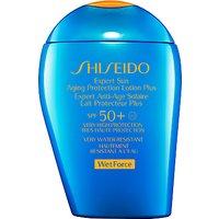 Shiseido Wetforce Expert Sun Aging Protection Lotion SPF 50+, 100ml