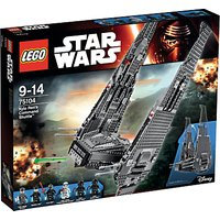 LEGO Star Wars Kylo Rens Command Shuttle