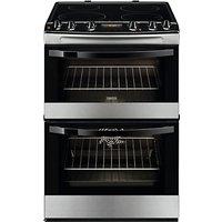 Zanussi ZCI68300XA Electric Cooker, Stainless Steel