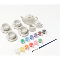 John Lewis Paint Your Own Teapot Set