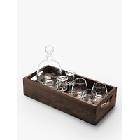 LSA International Whisky Decanter and Glasses Gift Set, 7 Pieces