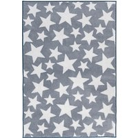 Kit For Kids Star Baby Rug, Grey
