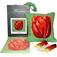 The Flanders Tapestry Collection Red Tulip Tapestry Kit