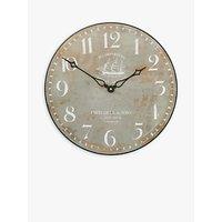Lascelles Tea Clipper Ship Wall Clock