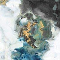 Ferdos Maleki - The Journey, 120 x 120cm
