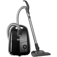 Sebo 91604GB Airbelt E1 Pet Cylinder Vacuum Cleaner, Onyx Black