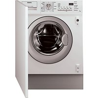 AEG L61271WDBI Integrated Washer Dryer, 7kg Wash/4kg Dry Load, C Energy Rating, 1200rpm Spin