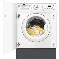 Zanussi ZWI71201WA Integrated Washing Machine, 7kg Load, A++ Energy Rating, 1200rpm Spin, White