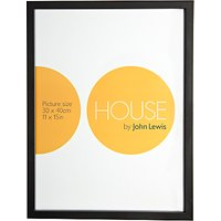 House by John Lewis MDF Wrap Picture Frame, 30 x 40cm
