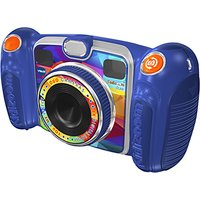 John Lewis Exclusive Vtech Kidizoom Duo Digital Camera With 4gb Sd Card, Blue