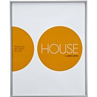 House by John Lewis Aluminium Photo Frame, 50 x 40cm