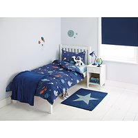 little home at John Lewis Moon and Planets Duvet and Pillowcase Set, Single