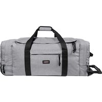 Eastpak Leatherface Large 2-Wheel Duffle Bag, Sunday Grey