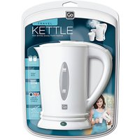 Go Travel 690 UK Travel Kettle, White