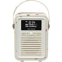 VQ Retro Mini DAB/FM Bluetooth Digital Radio, Emma Bridgewater Patterns