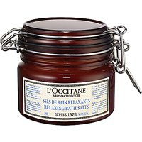 LOccitane Aromachologie Relaxing Bath Salts, 300ml