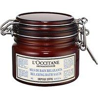 LOccitane Aromachologie Relaxing Bath Salts, 300ml
