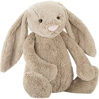 Jellycat Bashful Bunny Soft Toy, Really Big, Beige
