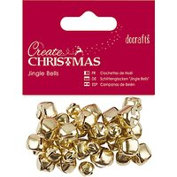 Docrafts Create Christmas Jingle Bells, 30pcs