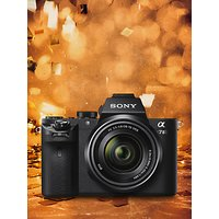 Sony Alpha 7 II Compact System Camera With HD 1080p, 24.3MP, Wi-Fi, NFC, OLED EVF, 5-Axis Image Stabiliser & 3 LCD Screen, 28-70mm Lens Included
