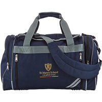 St Marys School, Cambridge Sports Bag, Navy
