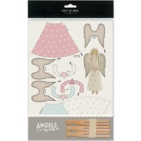 East of India Dolly Peg Rustic Angels Kit