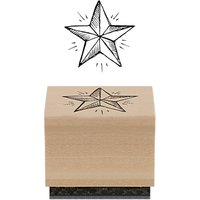 East of India Star Rubber Stamp