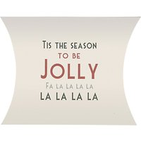 East of India Tis The Season Pillow Pack, White