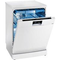 Siemens SN277W01TG iQ700 speedMatic Freestanding Dishwasher, White