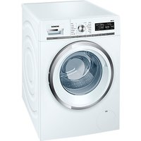 Siemens WM16W590GB Freestanding Washing Machine, 8kg Load, A+++ Energy Rating, 1600rpm Spin, White