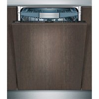 Siemens SX778D00TG Fully Integrated Dishwasher, Stainless Steel