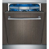 Siemens SN678D10TG Fully Integrated Dishwasher, Stainless Steel