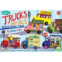 Eeboo Trucks & Bus Matching Game