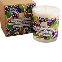 Cole & Co Lavender, Spearmint and Rosemary Scented Candle