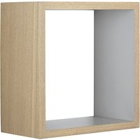 Design Project by John Lewis No.008 Square Bathroom Wall Shelf