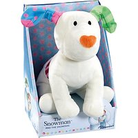 The Snowman and The Snowdog Soft Toy
