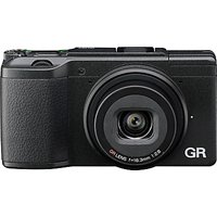 Ricoh GR II Expert Digital Camera, HD 1080p, 16.2MP, Wi-Fi, NFC, 3 LCD Screen