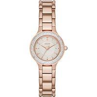 DKNY Womens Chambers Bracelet Strap Watch
