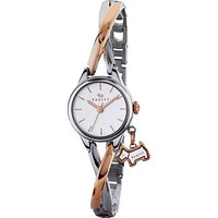 Radley RY4231 Womens Bayer Two Tone Bracelet Strap Watch, Silver/Rose Gold