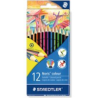 STAEDTLER Noris Colouring Pencils, Pack of 12, Multi
