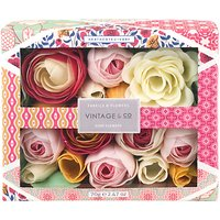 Heathcote & Ivory Vintage Fabric & Flowers Soap Flowers