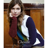 Rowan Chenille Collection Knitting Pattern Book