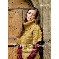 Rowan Pure Wool Worsted Collection by Martin Storey Knitting Pattern Book