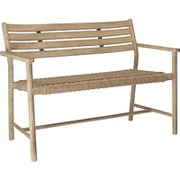 Croft Collection Islay Garden Bench, FSC-Certified (Eucalyptus), Natural